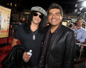 Slash with George Lopez